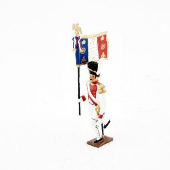 drapeau du 3e rgt de grenadiers de la garde à l'assaut
