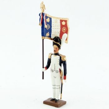 drapeau des grenadiers de la garde au fixe