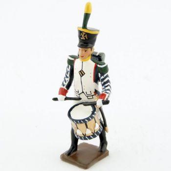 tambour des voltigeurs du 17ème régiment de ligne (1809)