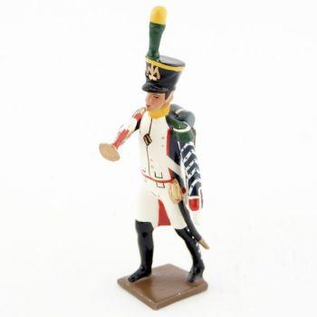 clairon des voltigeurs du 17ème régiment de ligne (1809)