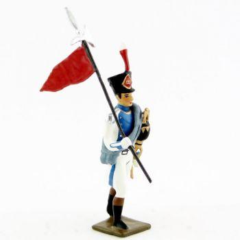 2e porte-aigle de la garde départementale de paris (1810)