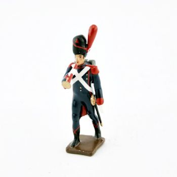 clairon des artilleurs a pied (au défilé) (1809)