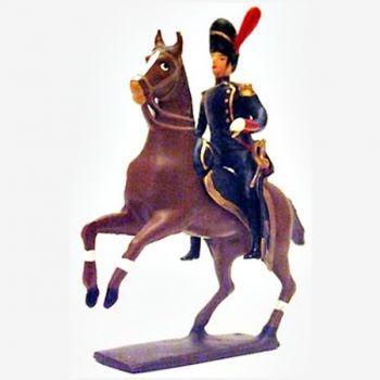 officier à cheval des artilleurs (1809)
