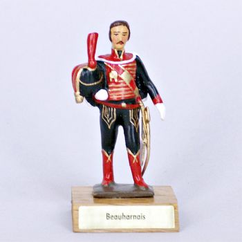 général de Beauharnais sur socle bois
