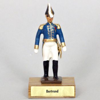 général Bertrand sur socle bois
