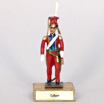 général Colbert sur socle bois