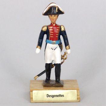 général Desgenettes sur socle bois