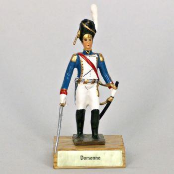 général Dorsenne sur socle bois