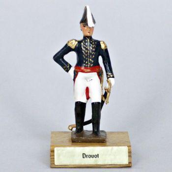 général Drouot sur socle bois