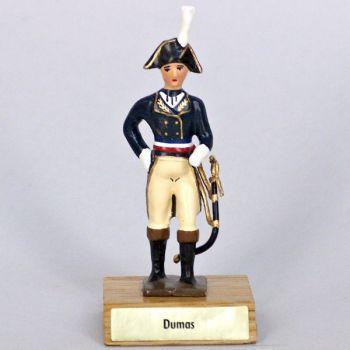 général Dumas sur socle bois