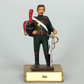 général Eblé sur socle bois