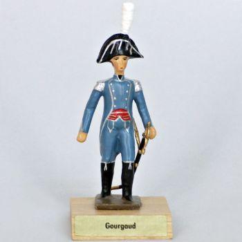général Gourgaud sur socle bois
