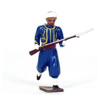 tirailleur algérien (turcos) à l'assaut