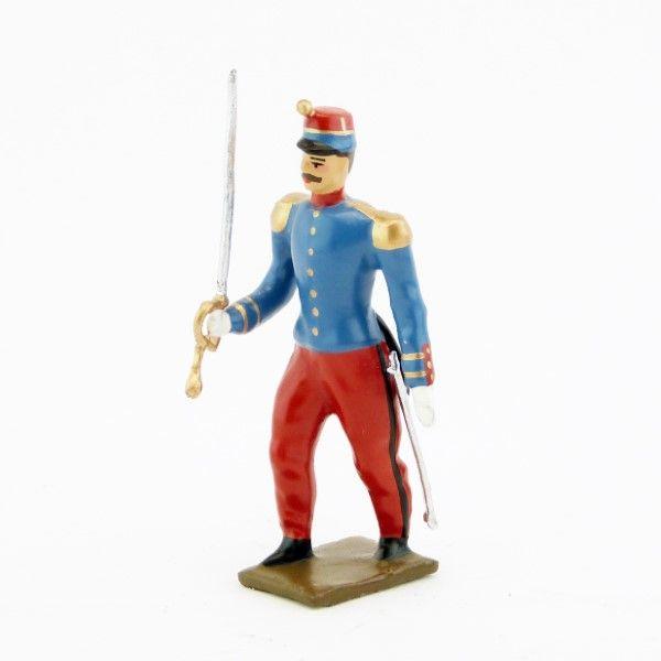 Figurine Légion étrangère  Figurine Soldat Légion Chef de bataillon du 2e Régime