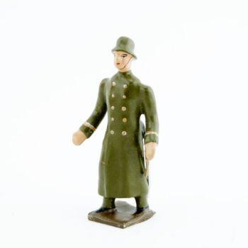 officier de l'infanterie prussienne avec casque acier (stahlhelm)