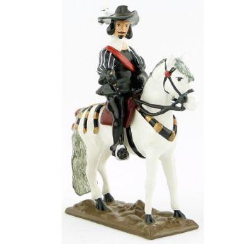 Louis XIII à cheval (collection les Trois Mousquetaires)