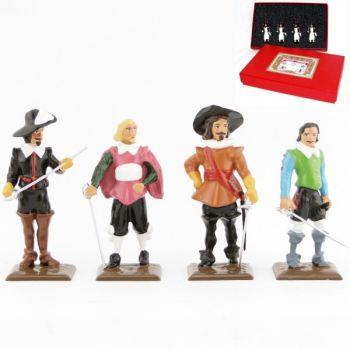 coffret de 4 personnages (collection les Trois Mousquetaires)