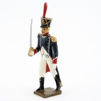 officier des tirailleurs-grenadiers (1809-1813)