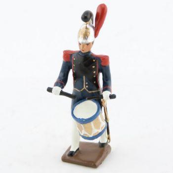 caisse roulante (tambour) de la musique du genie de la garde (1812)