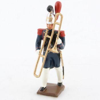 saqueboute / trombone à coulisse de la musique du genie de la garde (1812)
