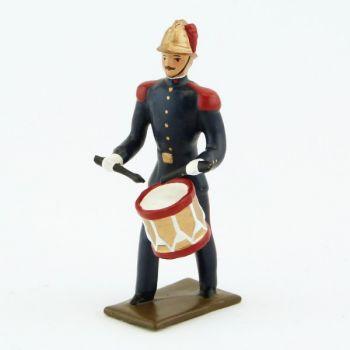 Tambour de la Musique des Pompiers (époque 1900)