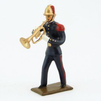Trompette de la Musique des Pompiers (époque 1900)
