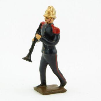 Clarinettiste de la Musique des Pompiers (époque 1900)