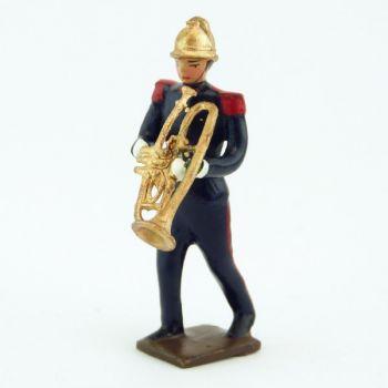 Trombone à pistons de la Musique des Pompiers (époque 1900)