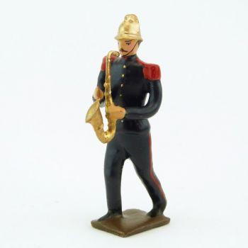 Petit saxophone de la Musique des Pompiers (époque 1900)