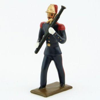 Basson de la Musique des Pompiers (époque 1900)