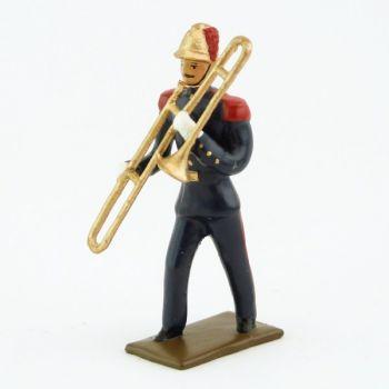 Trombone de la Musique des Pompiers (époque 1900)