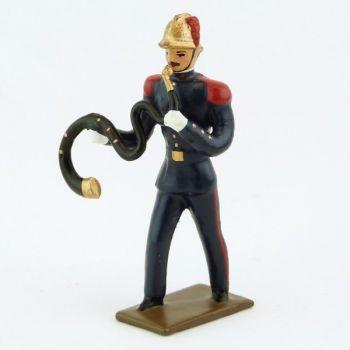 Serpent de la Musique des Pompiers (époque 1900)