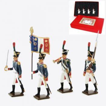 Voltigeurs de la Jeune Garde, coffret de 4 figurines