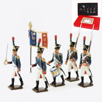 Voltigeurs de la Jeune Garde, coffret de 5 figurines