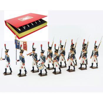 Voltigeurs de la Jeune Garde, coffret de 12 figurines