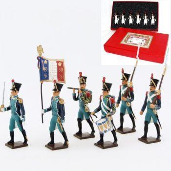 Canonniers Garde-Côtes (1810-1813), coffret de 6 figurines