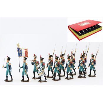 Canonniers Garde-Côtes (1810-1813), coffret de 12 figurines