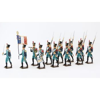 Canonniers Garde-Côtes (1810-1813), ensemble de 12 figurines