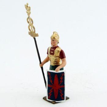 romain porte-enseigne (ronds pleins)
