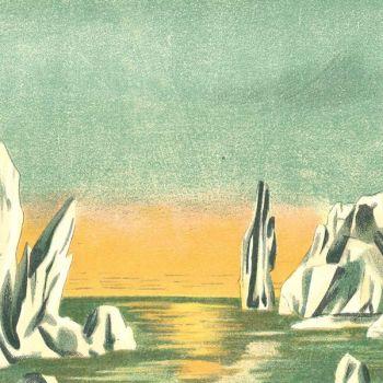 Pôle Nord (l. 60 x h. 13 cm)