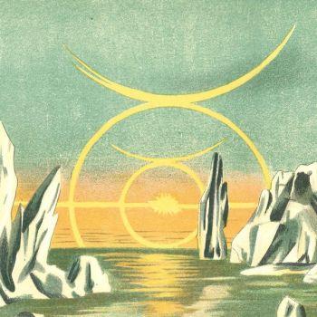 Pôle Nord, soleil de Minuit (l. 60 x h. 13 cm)