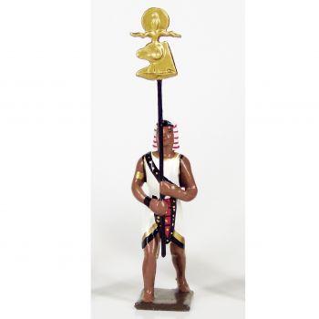 égyptien avec emblème