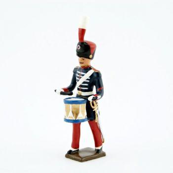 tambour de la musique des Grenadiers à pied de la Garde Impériale (1860-1870)
