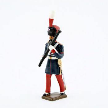 basson de la musique des Grenadiers à pied de la Garde Impériale (1860-1870)