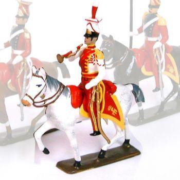 trompette du 2e rgt de chevau-legers lanciers (hollandais), lanciers rouges (181