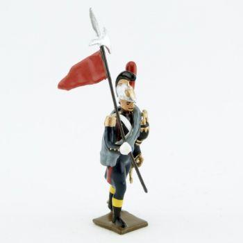 2e porte-aigle du génie de la garde (1812)