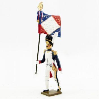 porte-drapeau des grenadiers de la garde (1804)