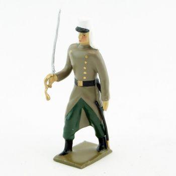 officier de la légion étrangère en capote