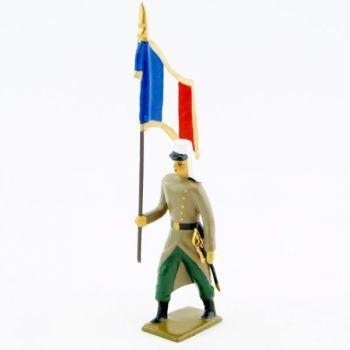 drapeau de la légion étrangère en capote
