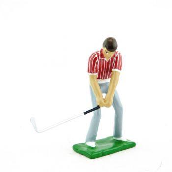 golfeur en Montée de swing (GF01)